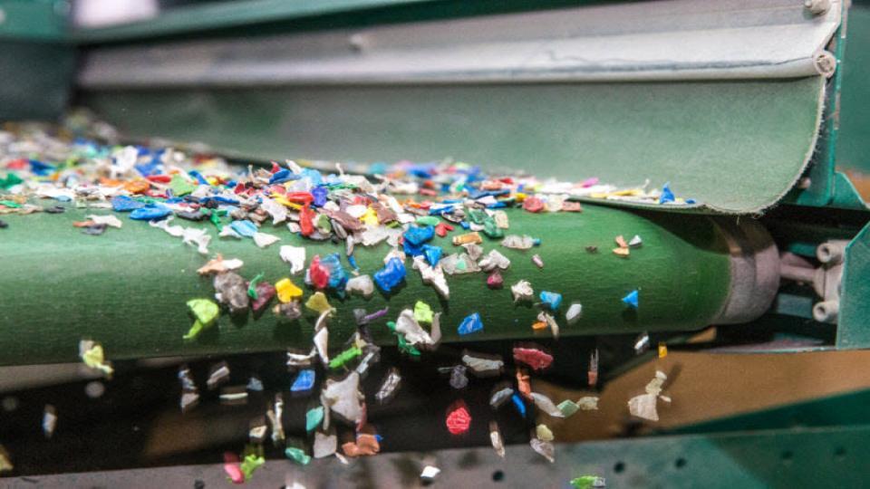Kunststofrecycler Ecoplast