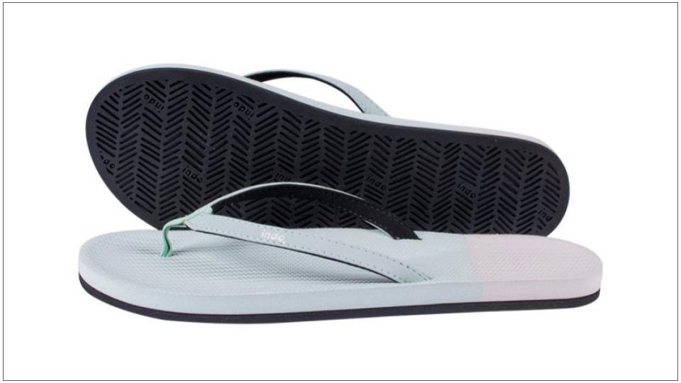 Indosole: zolen voor slippers van gerecyclede banden