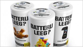 Stibat recyclet ingeleverde batterijen