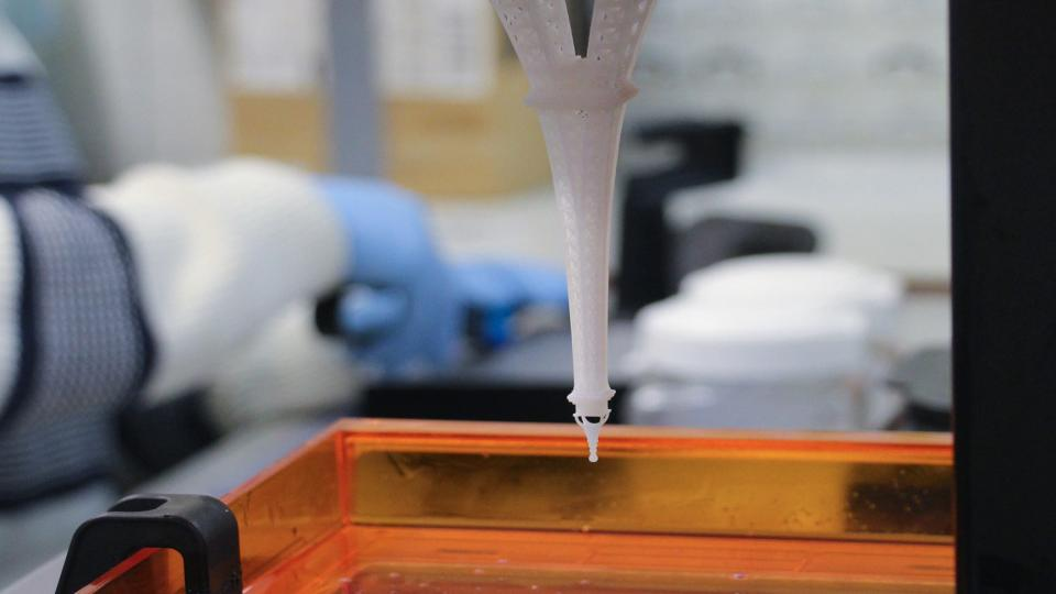 3D-printerinkt van sojabonen