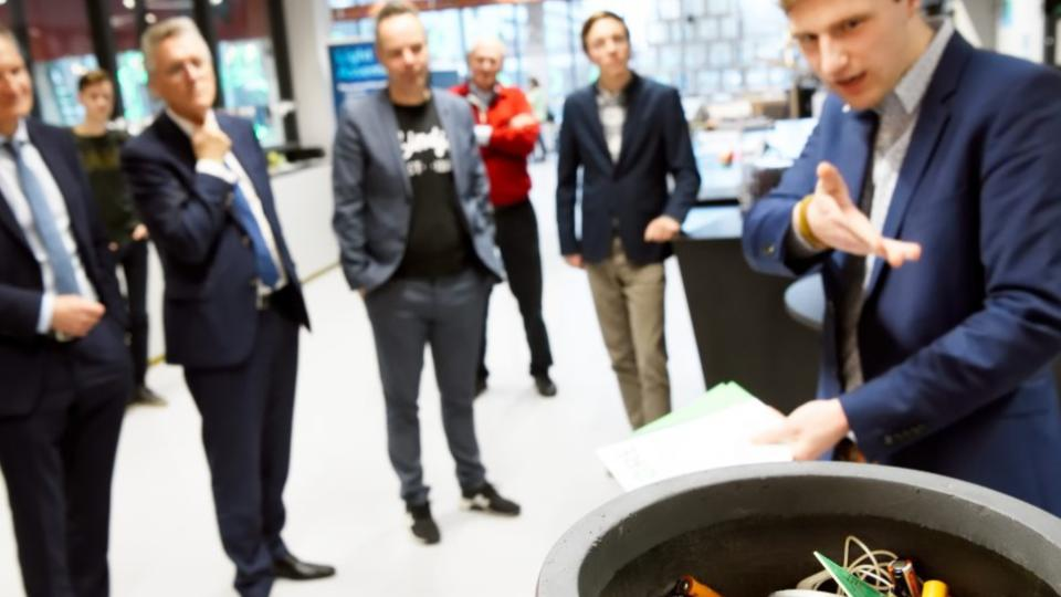 Eerste metaalrecyclingfabriek in Nederland
