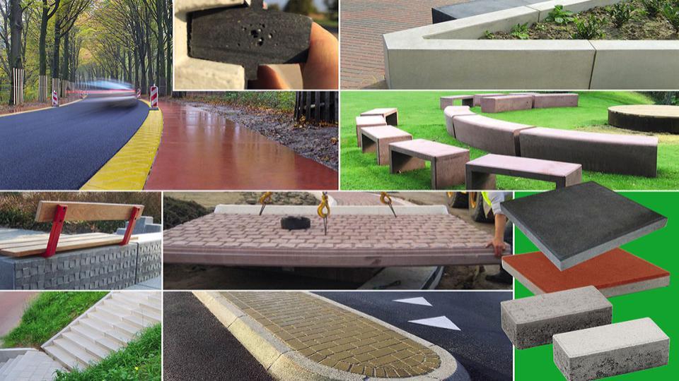 Biobased beton van Bio Bound