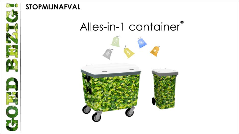 Alles-in-1 container