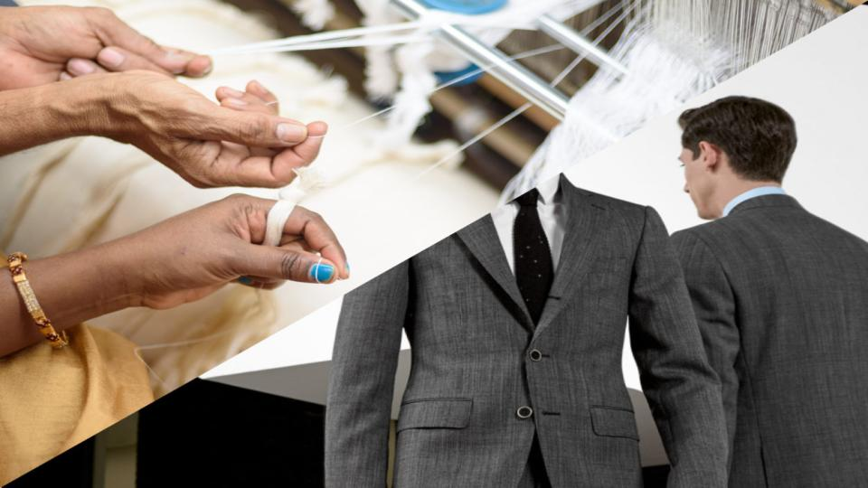 Nederlandse start-ups Suittruck & Khaloom lanceren unieke serie 100% gerecycelde maatpakken
