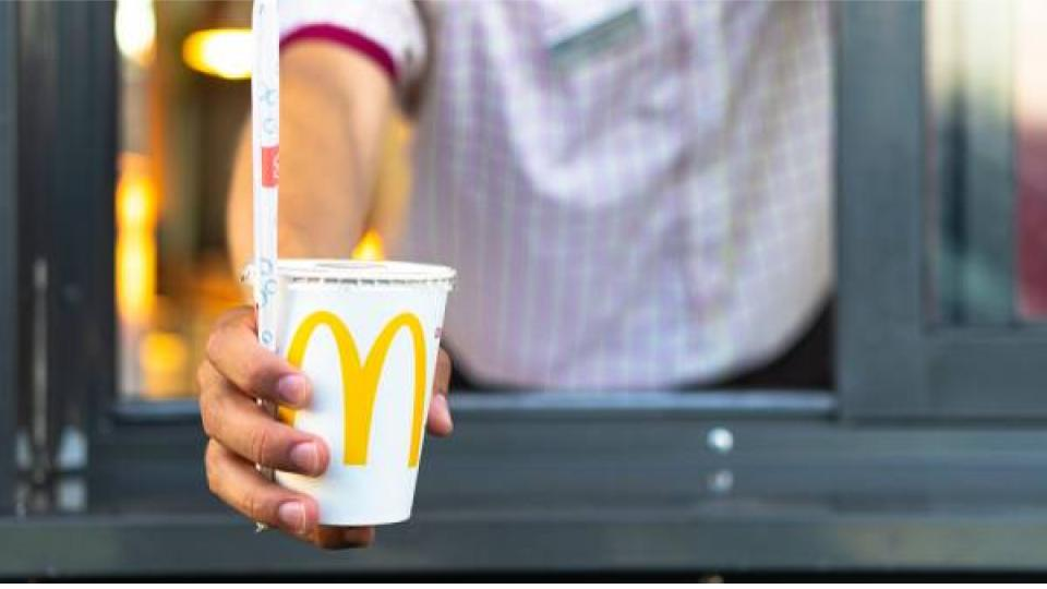McDonald's vervangt plastic rietjes
