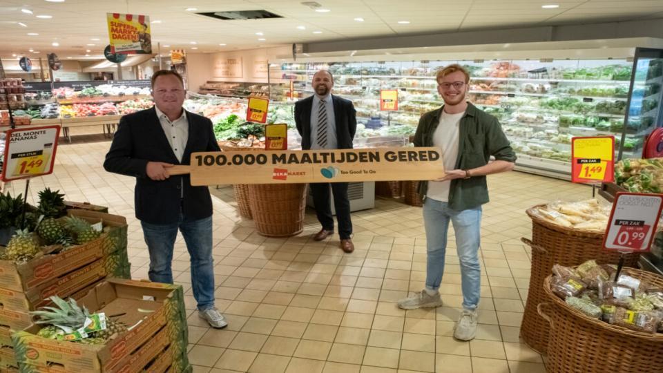DekaMarkt tegen voedselverspilling