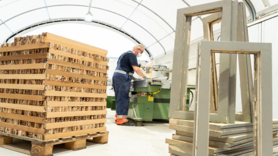 GP Groot haalt meer hout uit sloop