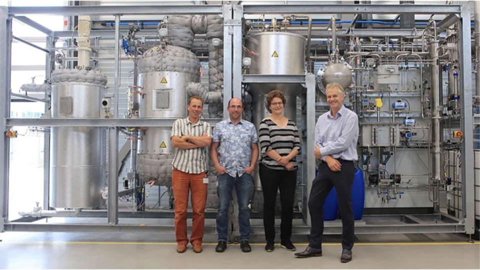 BioBTX opent pilot plant in Groningen