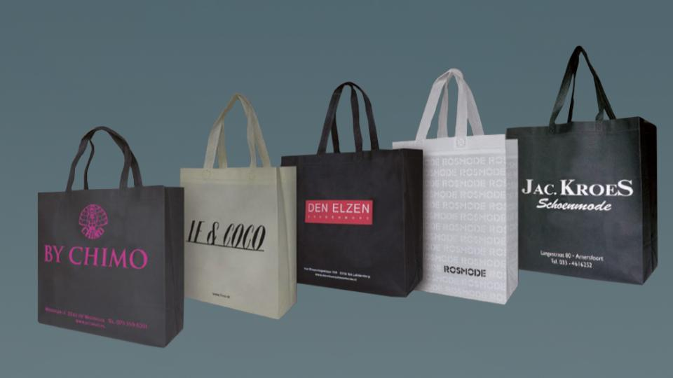 UTS Bags maakt herbruikbare tassen