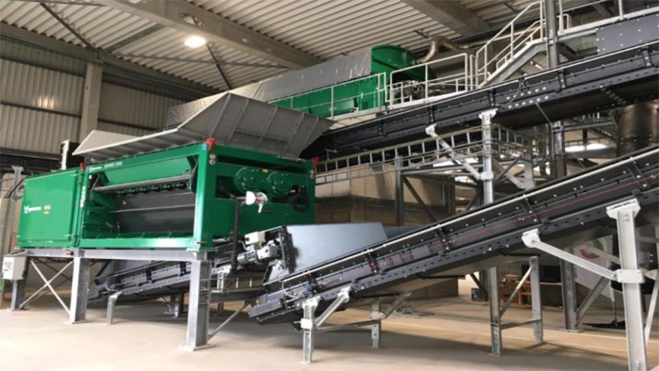 Nieuwe composteringsinstallatie verwerkt jaarlijks GFT