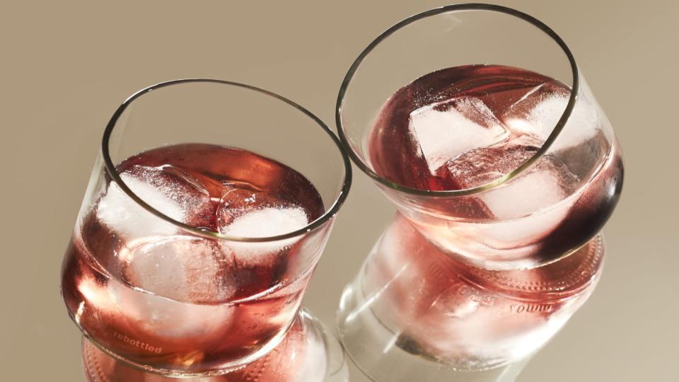 Geupcycled glas van Libbey en Rebottled