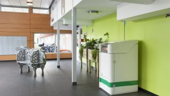Freshstation voor GFT van appartementen