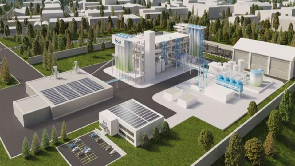 Loop Industries start fabriek recycling petflessen