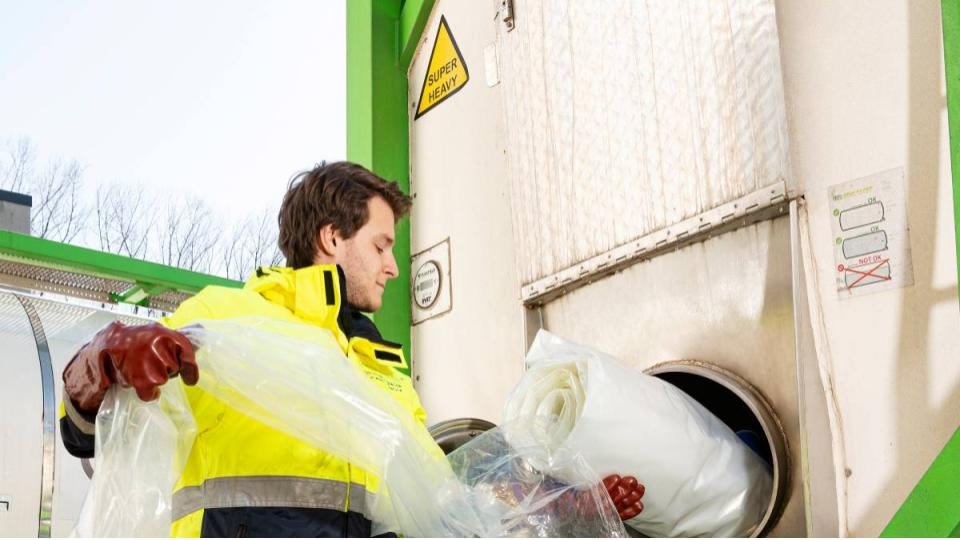 Sappen van Coca-Cola in recyclebare zak Mega-Inliner