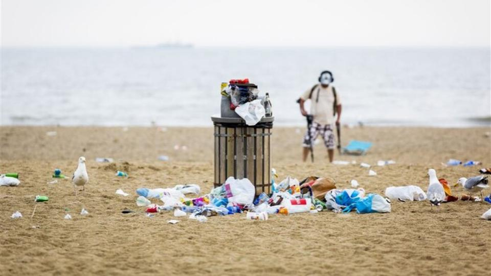 Tweede leven voor plastic afval: 'Anders wordt het verbrand'