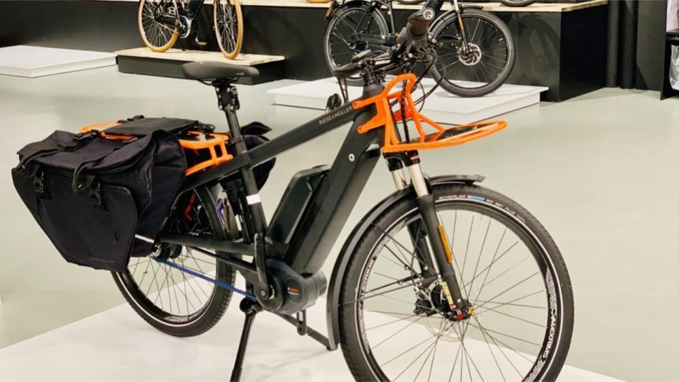 VAUDE fietstas van gerecyclede materialen
