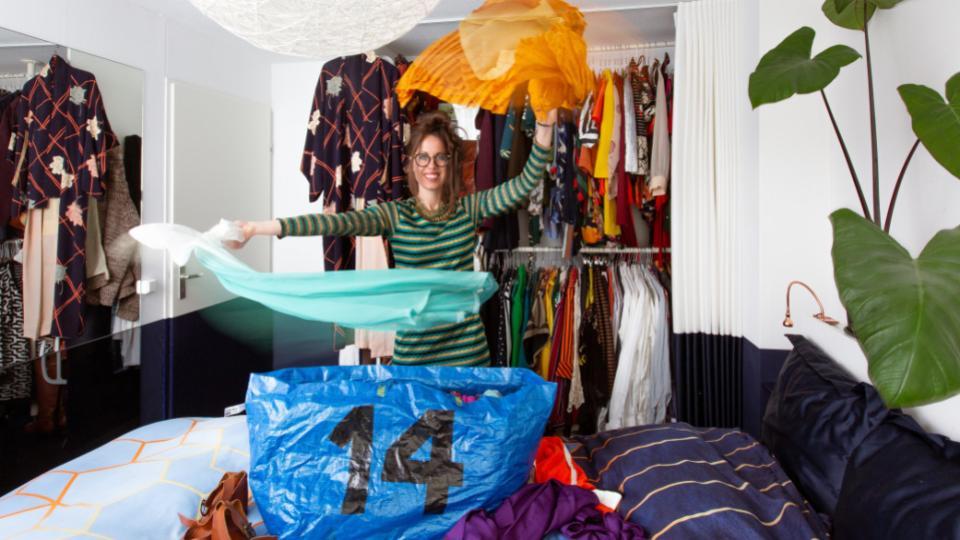 Kleding ruilen met de ketting kledingruil is de nieuwe trend