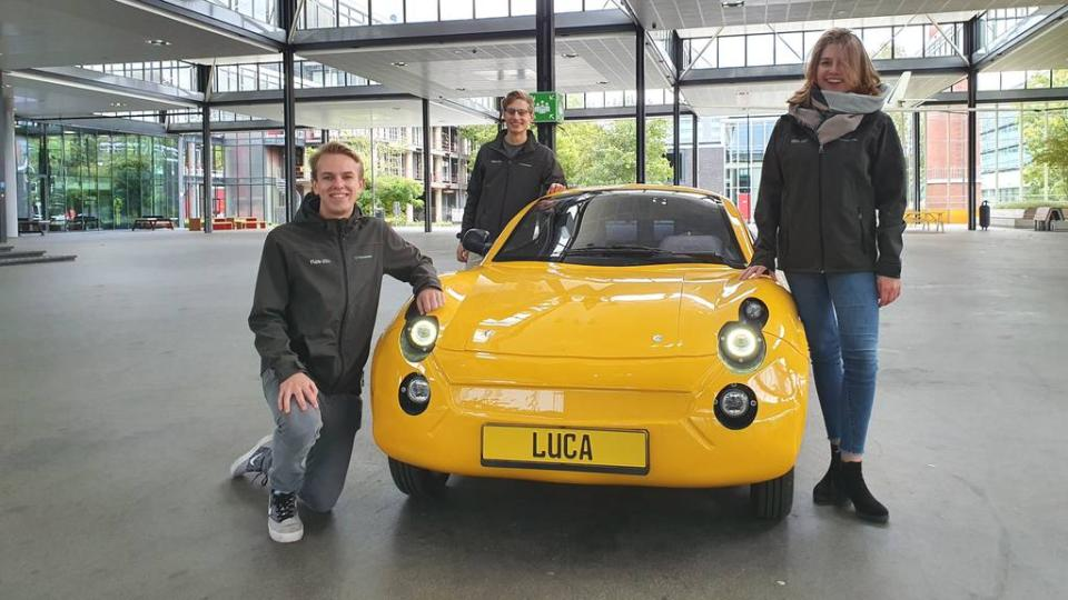 TU/e bouwt auto gemaakt uit afval: milieubewust én een beetje sexy