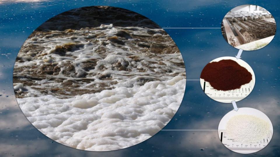 Verbranden van zuiveringsslib maakt recycling van fosfaat tot 80 procent mogelijk
