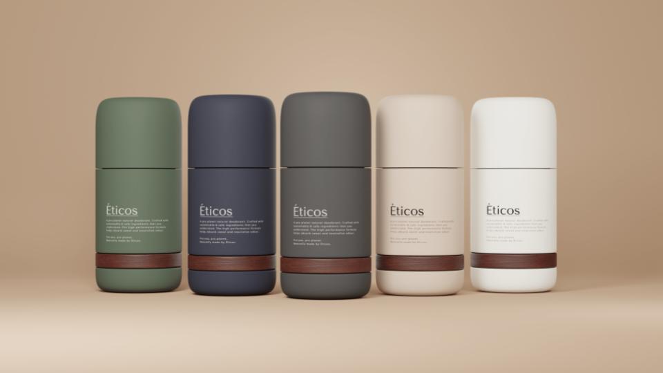 Éticos: Duurzame en natuurlijke deodorant welke hervulbaar is.